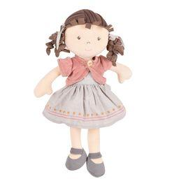 Rose - Organic Doll With Brown Hair