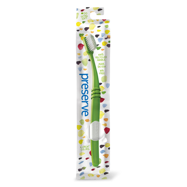 Toothbrush in Lightweight Pouch | Single