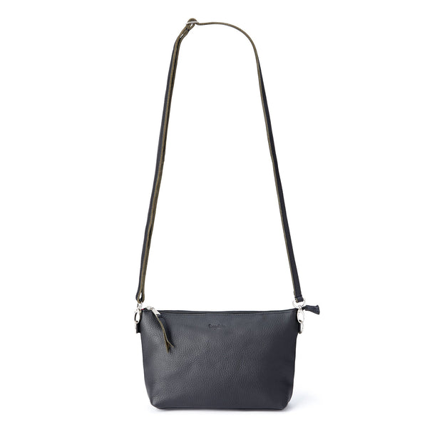 The Abby Small Leather Shoulder Bag