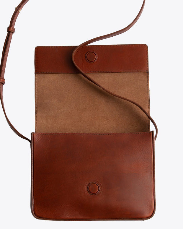 Clara Crossbody Purse Rosewood