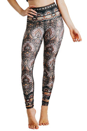 Espresso Yourself Printed Yoga Leggings