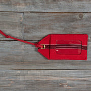 Mayamam Stripe Luggage Tags | Cajola Red