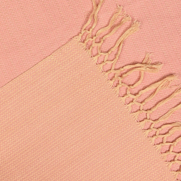 Soft & Neutral Shawl | Champagne & Pink