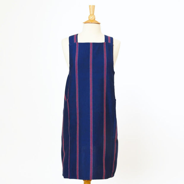 Crossback Apron | Red, White & Blues