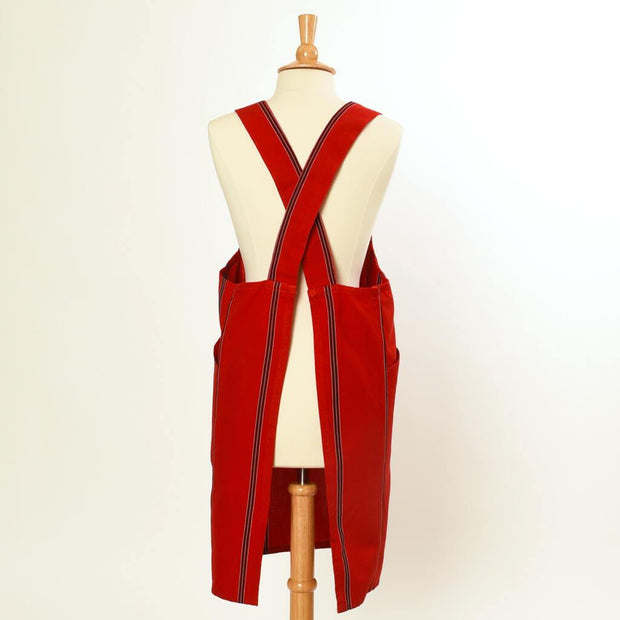 Crossback Apron | Cajola Red