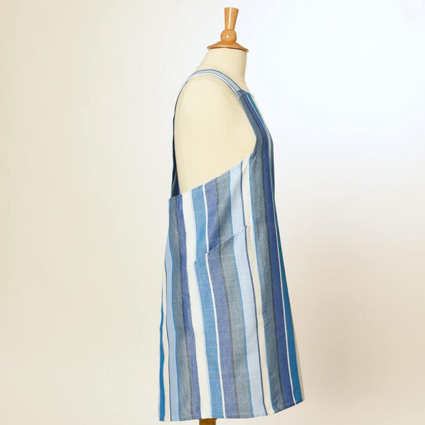 Crossback Apron | Regatta Stripe