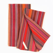 Striped Kitchen Towels Berry Jubilee