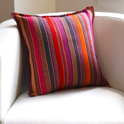 Mayamam Stripes Pillows | Berry Jubilee