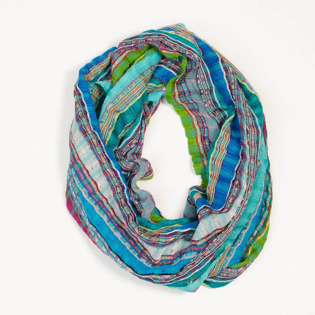 Infinity Scarf | Turquoise Jewels