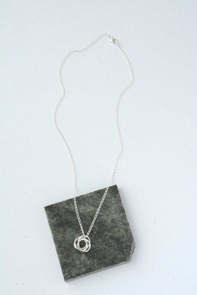 Beautiful Mess Sterling Necklace
