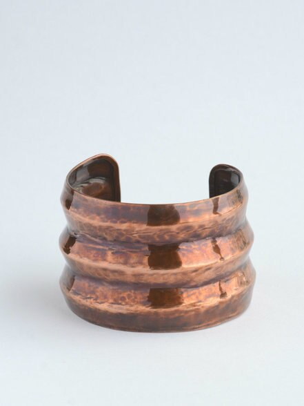 Ribbed Cuff - Copper