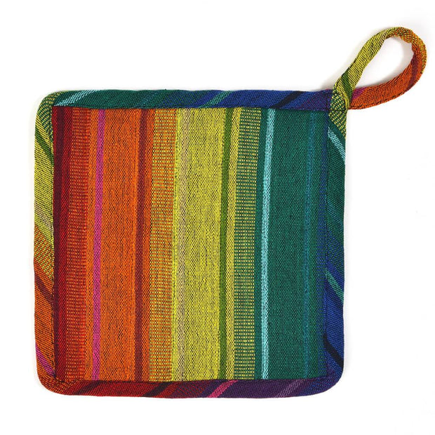 Square Pot Holder | Rainbow