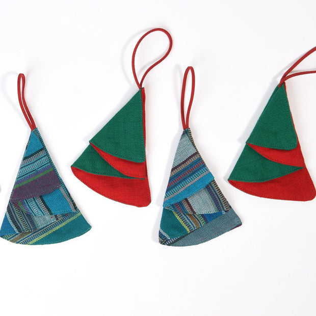 Christmas Ornaments | Origami Folded Trees