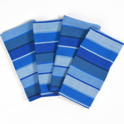 Table napkins Stormy Blues Stripes