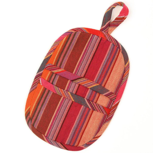 Mini Oven Mitt | Berry Jubilee Stripes