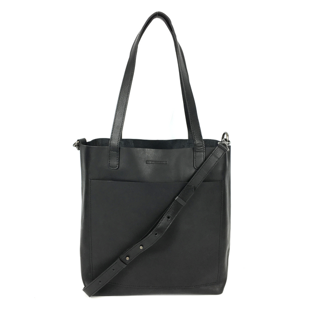 DAY TOTE LEATHER MEDIUM BLACK