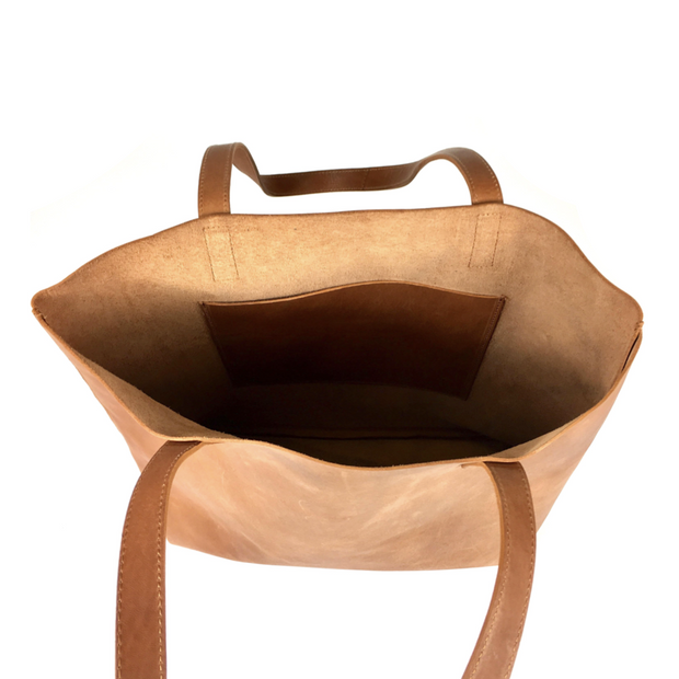 DAY TOTE LEATHER CAMEL