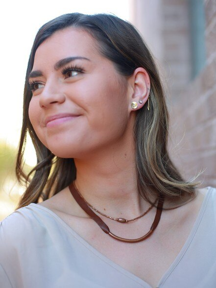 Emnet Dainty Necklace - Copper