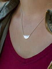Fair Feminist Necklace - Sterling Silver