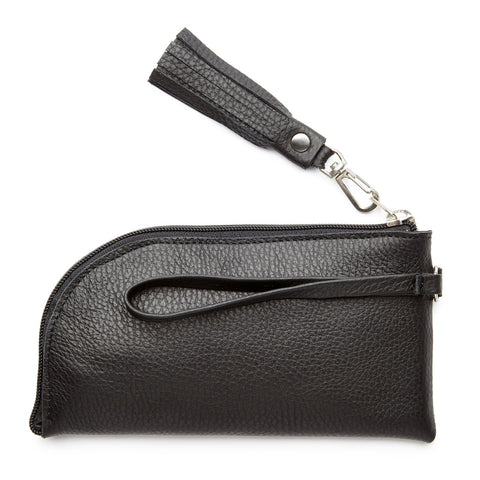 The Felicity Leather Wristlet