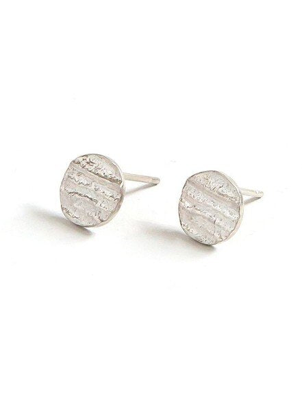 Fossil Sterling Silver Studs