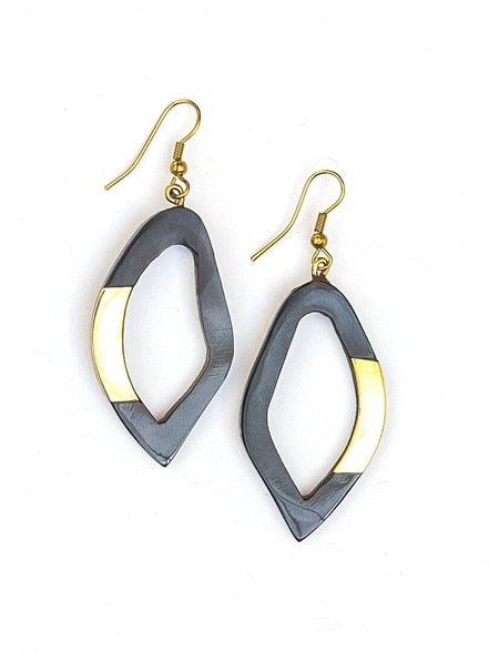 Freeform Horn Earrings