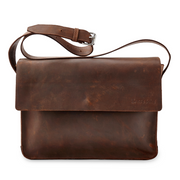 The Gabriel Leather Messenger Bag