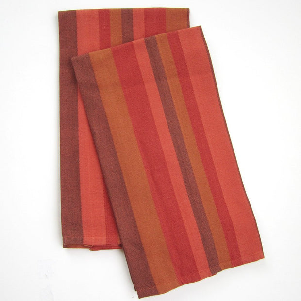 Striped Dish Towels Pumpkin Spice