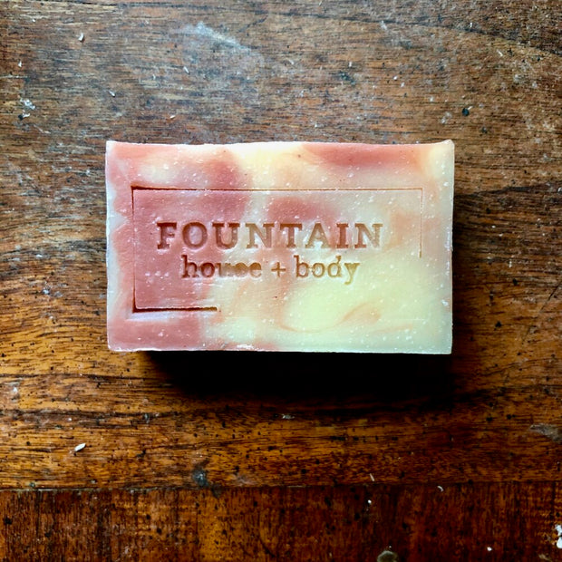 Grapefruit + Pink Clay Bar