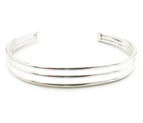 Simple Lines Cuff - Smooth