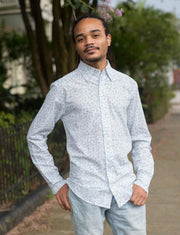 Benjamin Men's Button Down Shirt - Organic Cotton Pre-Order