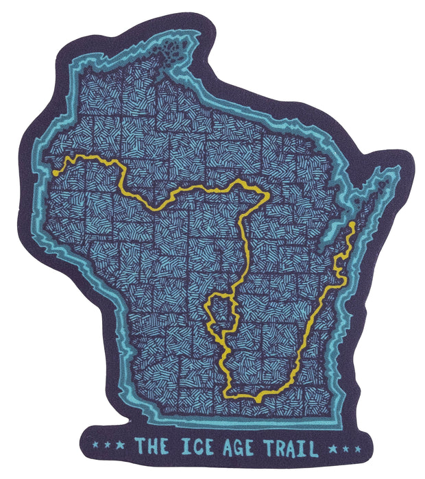 Ice Age Trail - Trail Map Magnet