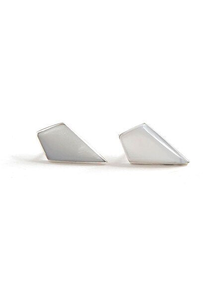 Icicle Mother of Pearl Studs