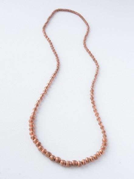 Graduated Artillery Necklace - Copper