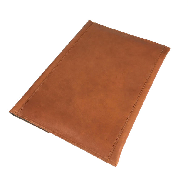 LAPTOP CASE LEATHER CAMEL