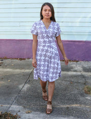 The Lilies Organic Jersey Wrap Dress