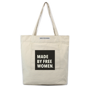 MARKET TOTE MADE BY FREE WOMEN SQUARE