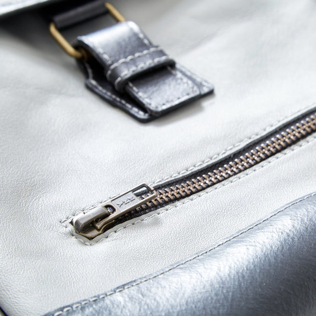The Hudson Upcycled Messenger Bag