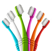 Toothbrush in Lightweight Pouch |  6-pack