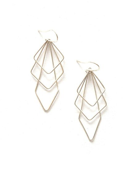 Prominent Paragon Earrings - Silver
