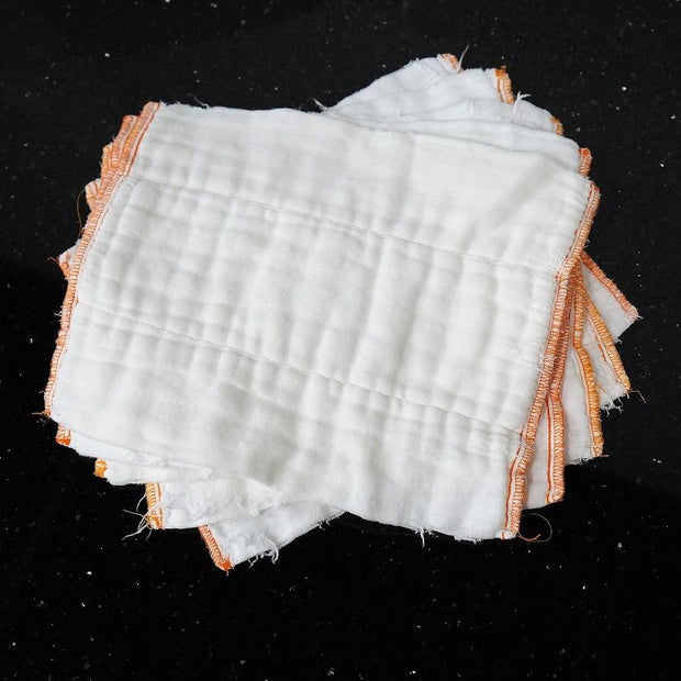 Organic Cotton Re-Purposed Diaper Rags