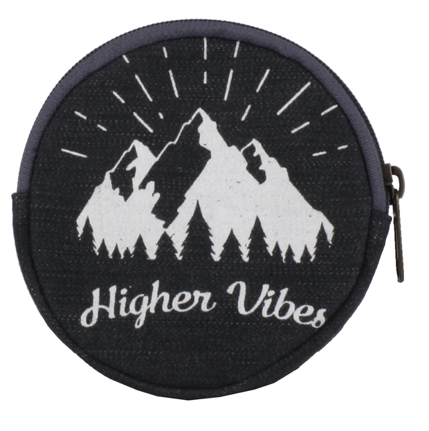 Statement Coin Purse-Higher Vibes