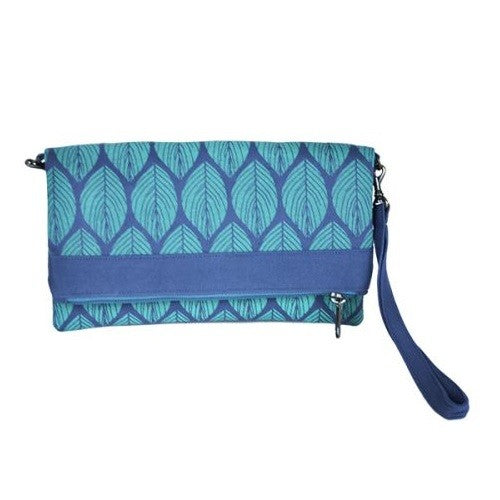 Screen Print Convertible Clutch