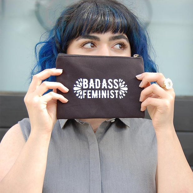 Statement Pouch -  Bad Ass Feminist