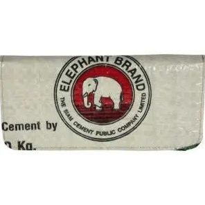 Recycled Cement Long Wallet