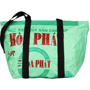 Recycled Zip Top Beach Bag