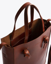 Simone Crossbody Shopper Rosewood