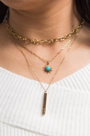 Radiance Turquoise Necklace