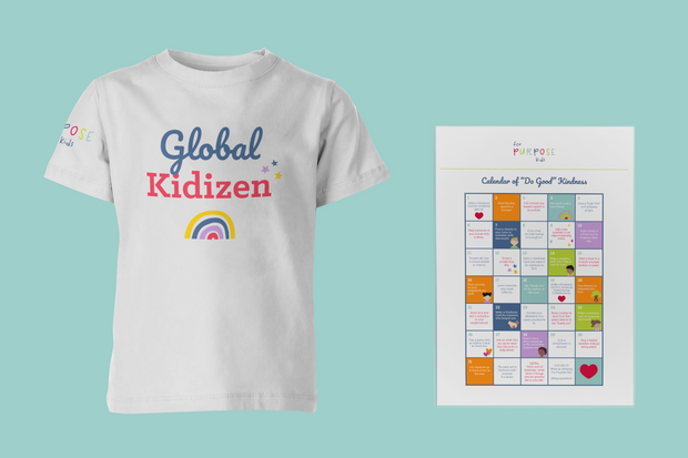 Global Kidizen Tee & Kindness Calendar