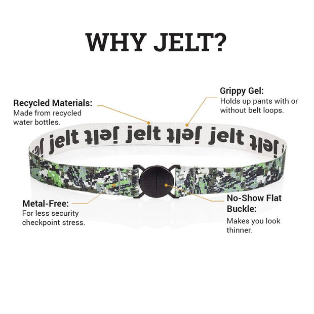 Digital Camo Elastic Belt